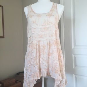 c18e301c53448 Free People. Voile Trapeze slip dress free people floral print. $68 $88